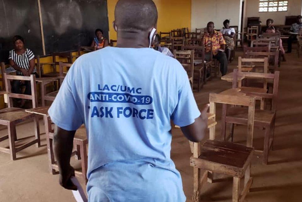 Liberia anti-COVID-19 training