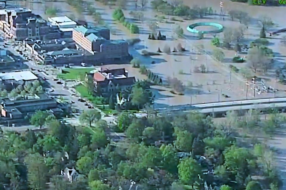 Flooded Midland 2020