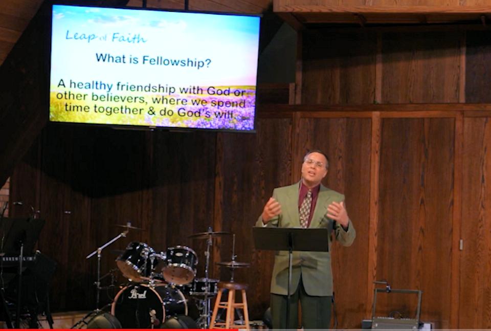 Virtual Worship at St. Joe First