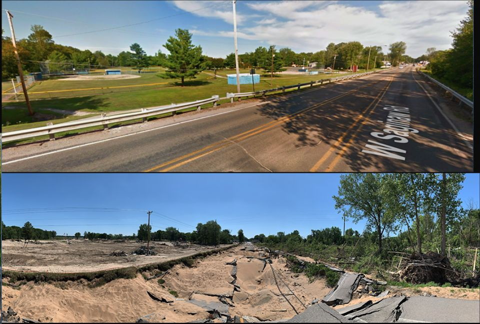Before and After Roads