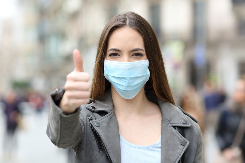 Reopen with masks and other precautions