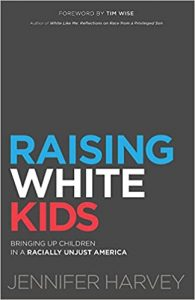 raising white kids book cover
