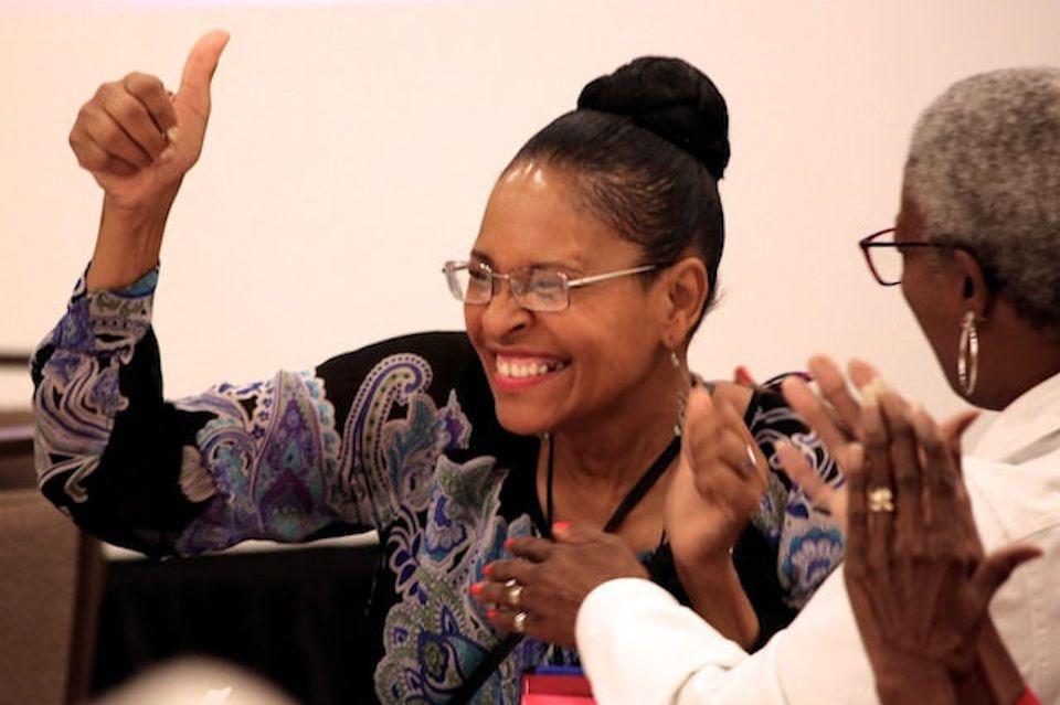 Ruby Anderson among leaders of UMW.