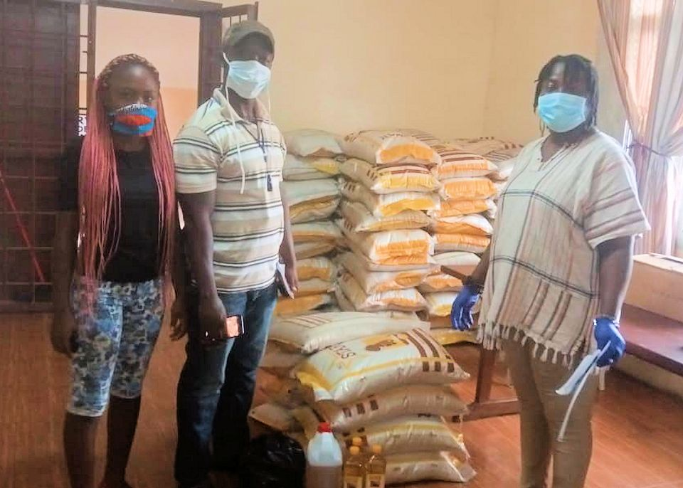 Food reaches Liberia from Michigan