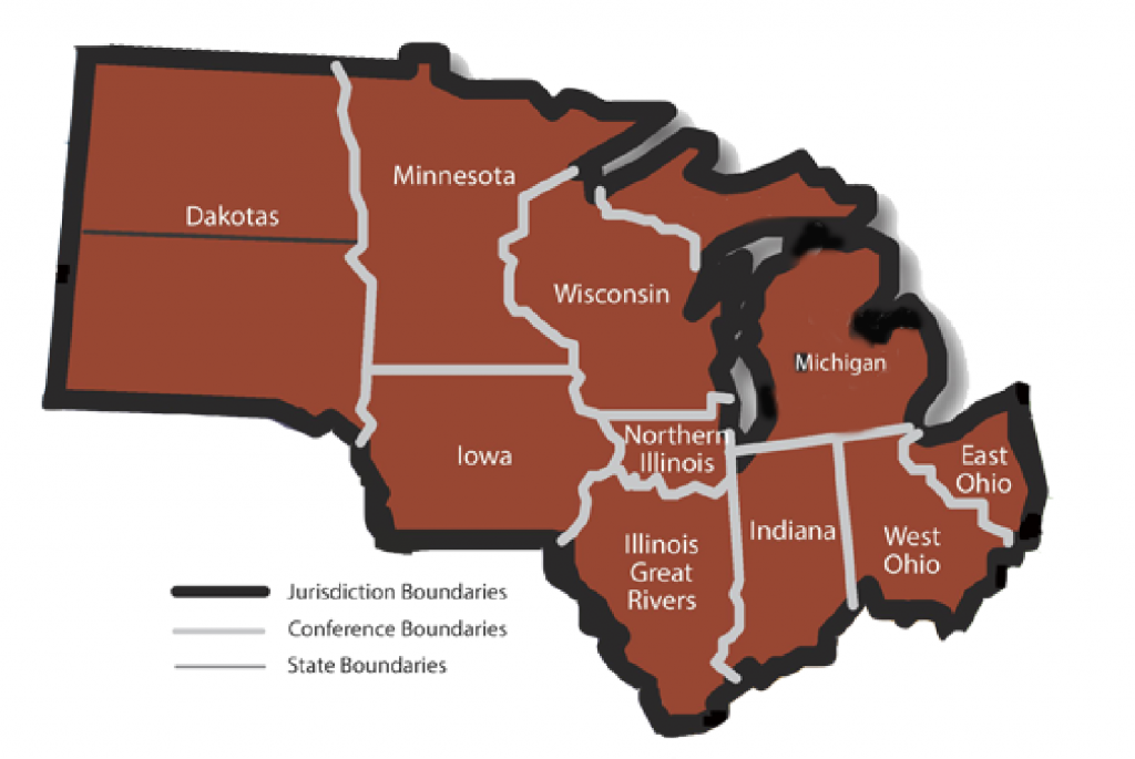 Minnesota and Michigan are in the NCJ region
