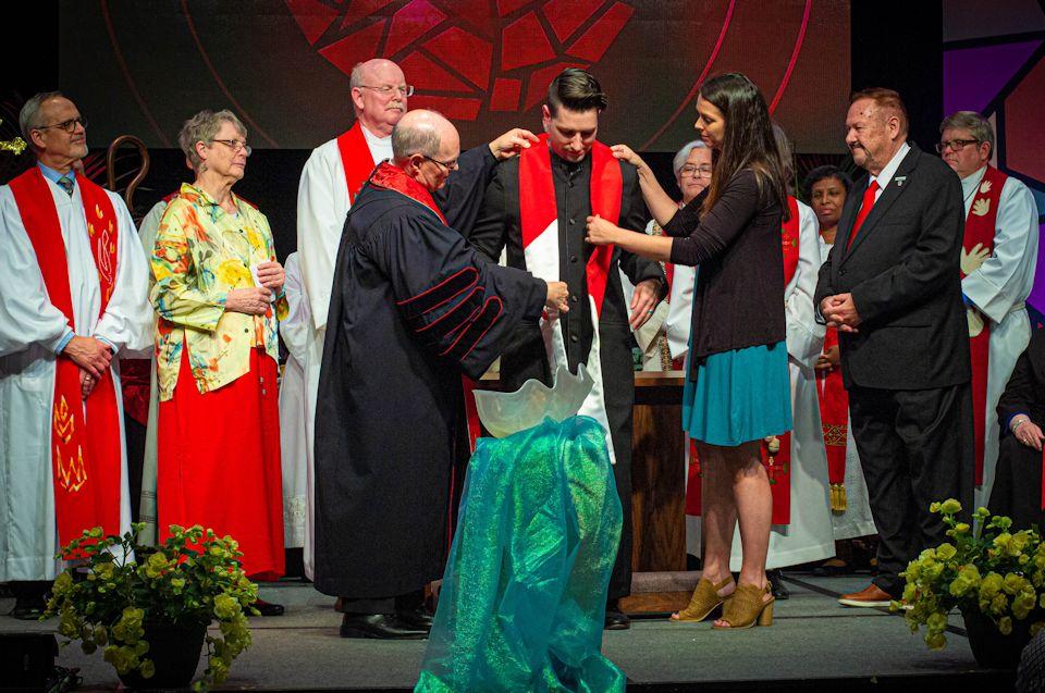 Lay Leaders at ordination
