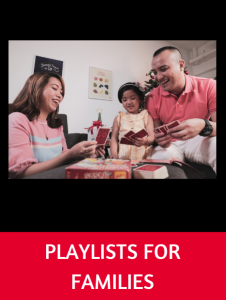 Playlists for Families