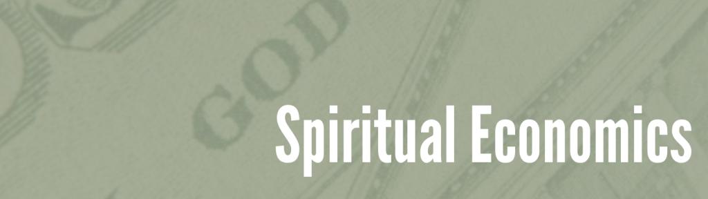 Spiritual Economics header