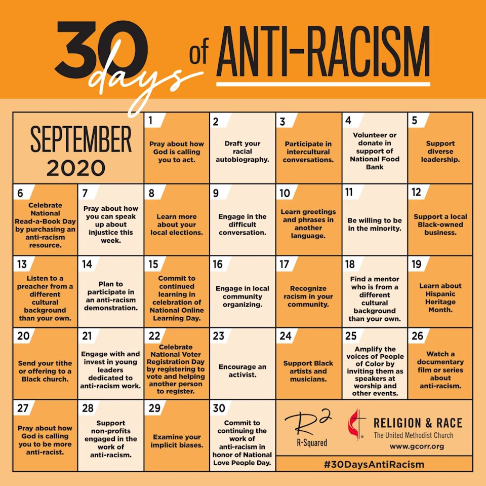 Anti-racism activities