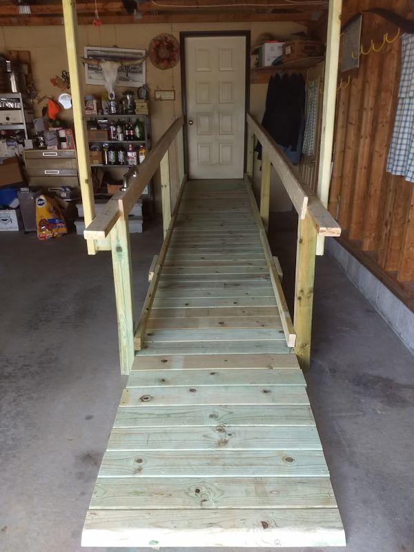 COVID grants provide ramp