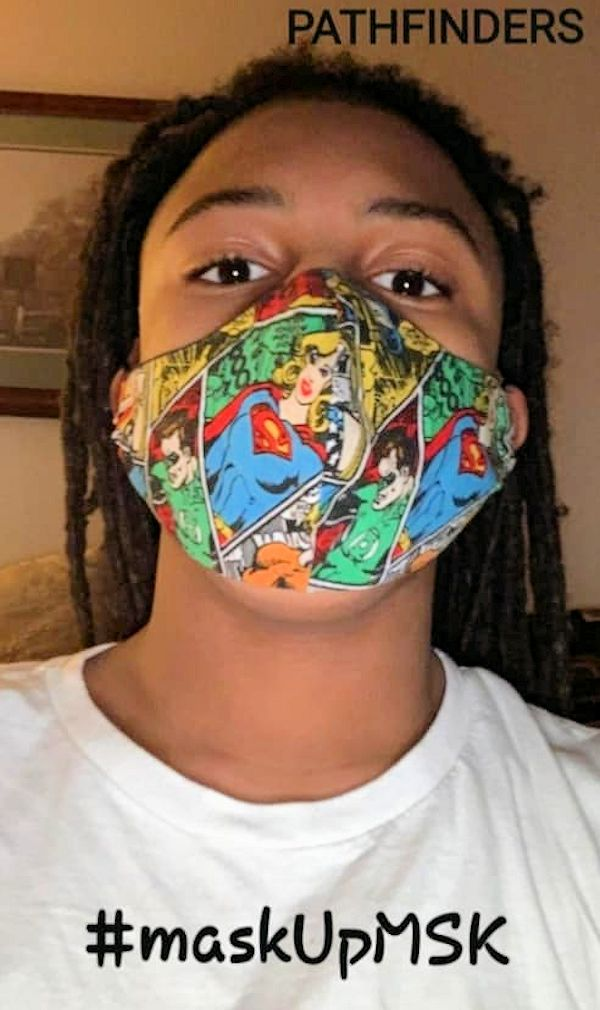 Mask Up Muskegon message