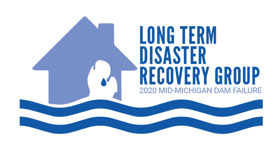 Flood recovery logo