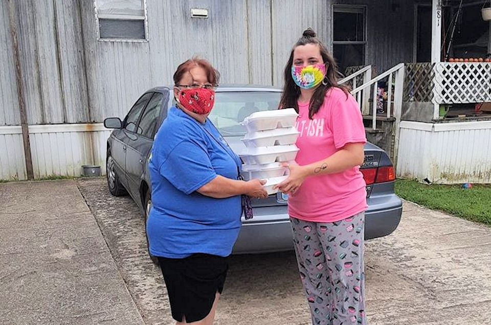 UMCOR grant feeds hungry families in Appalachia