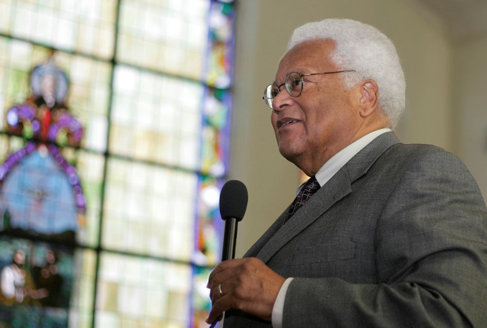 Civil Rights leader James Lawson