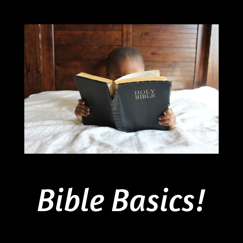 graphic of child reading bible
