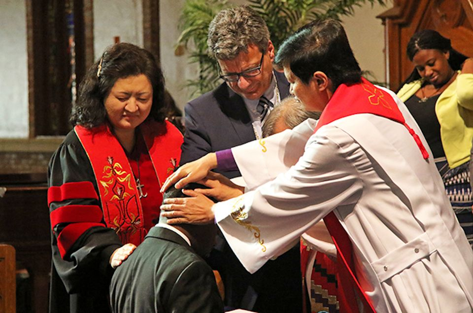 Mission board consecrates missionaries