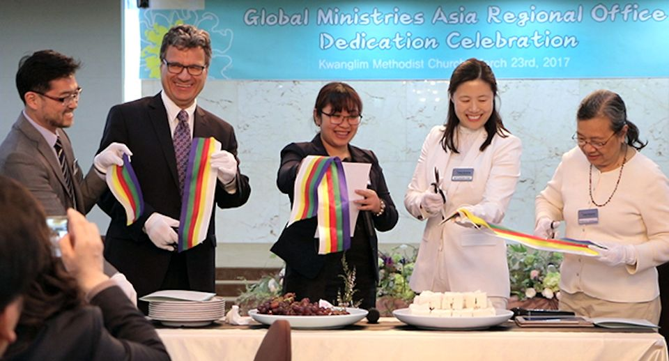 Mission office opens in Asia