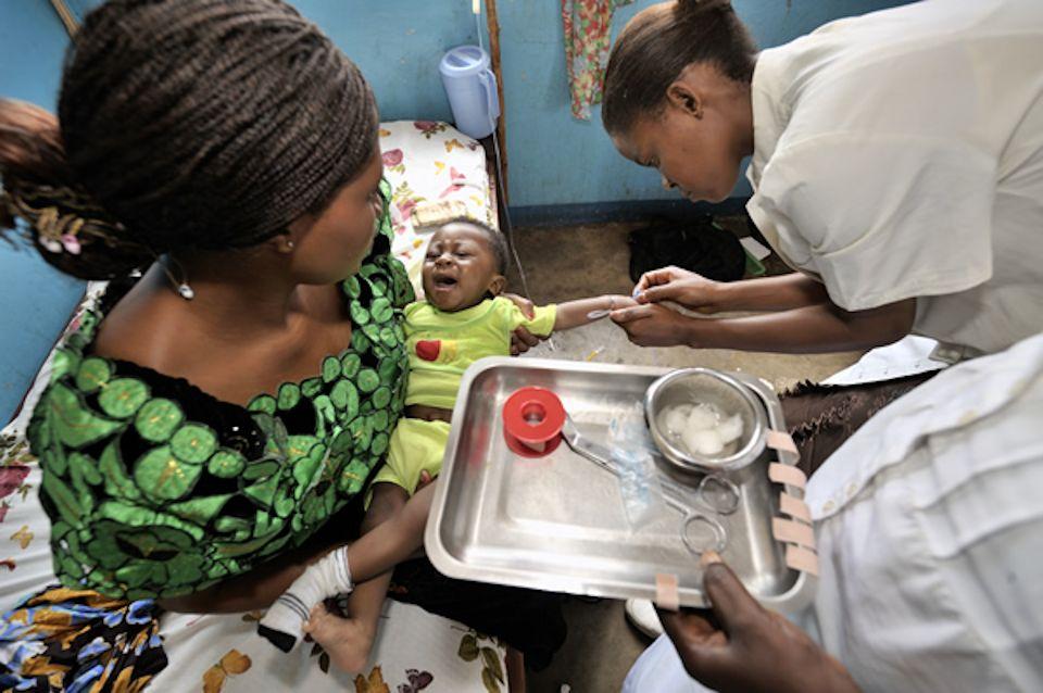 Malaria treatment in Congo