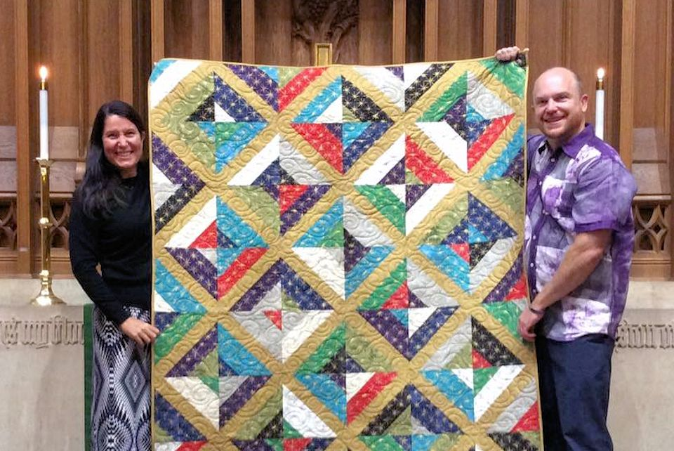 Quilt is a gift of care