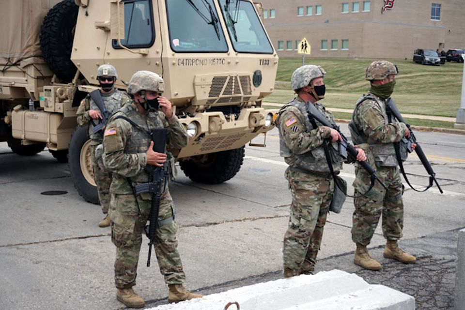 National Guard in Wisconsin