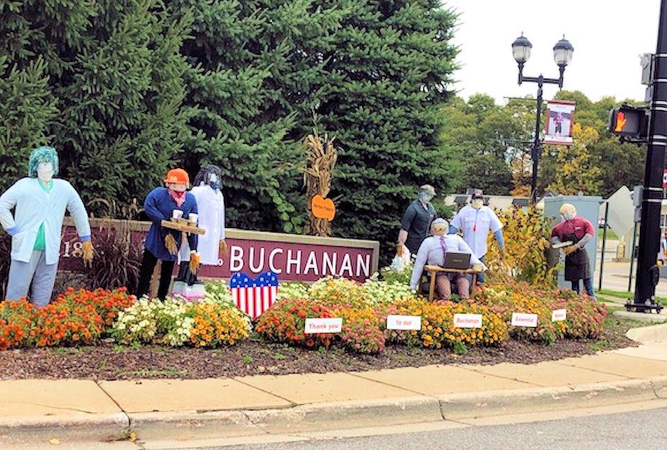 Buchanan welcome sign
