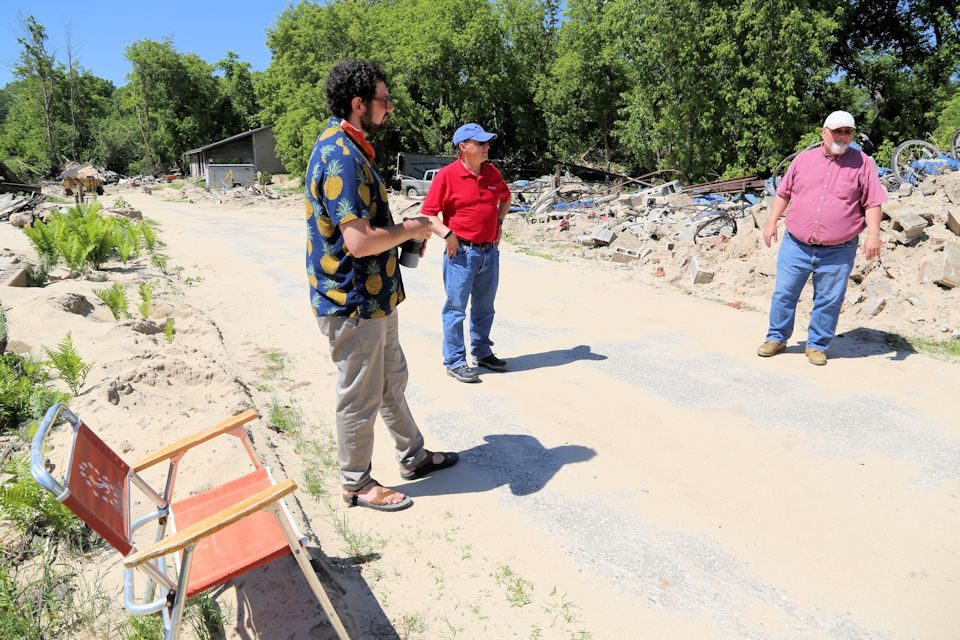 Pastors tour relief efforts in mid-Michigan
