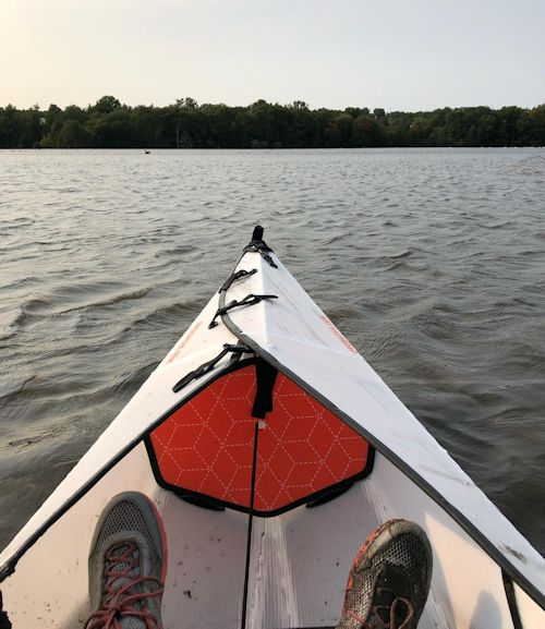 Kayak helps tired feet