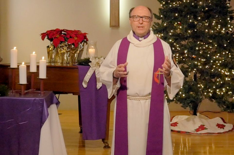 Advent video message by Bishop Bard