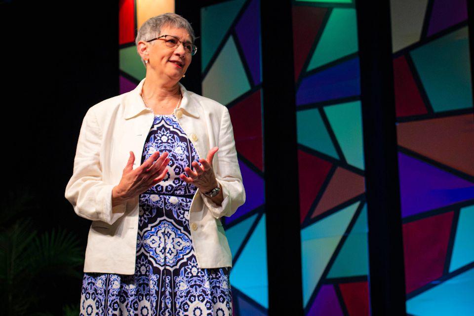 Jennie Browne, one of new leaders