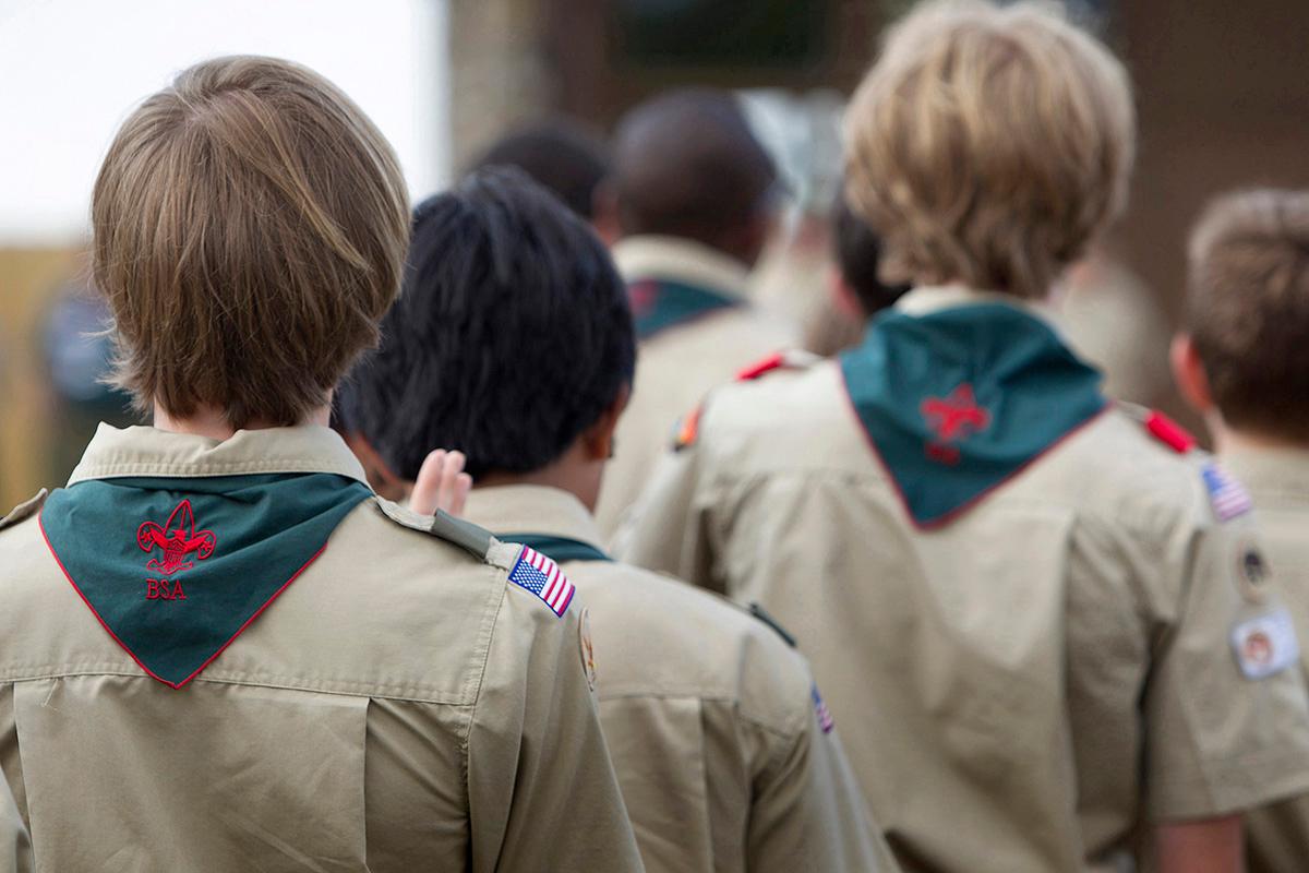 Scouts assemble