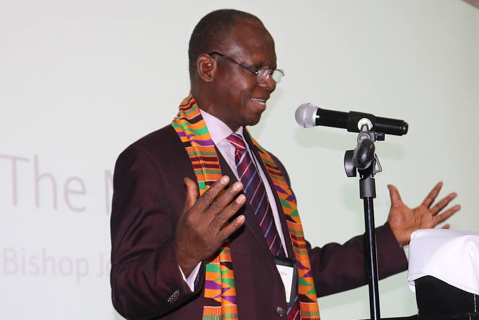 UMCOR recognizing agricultural efforts of Bishop Yambasu