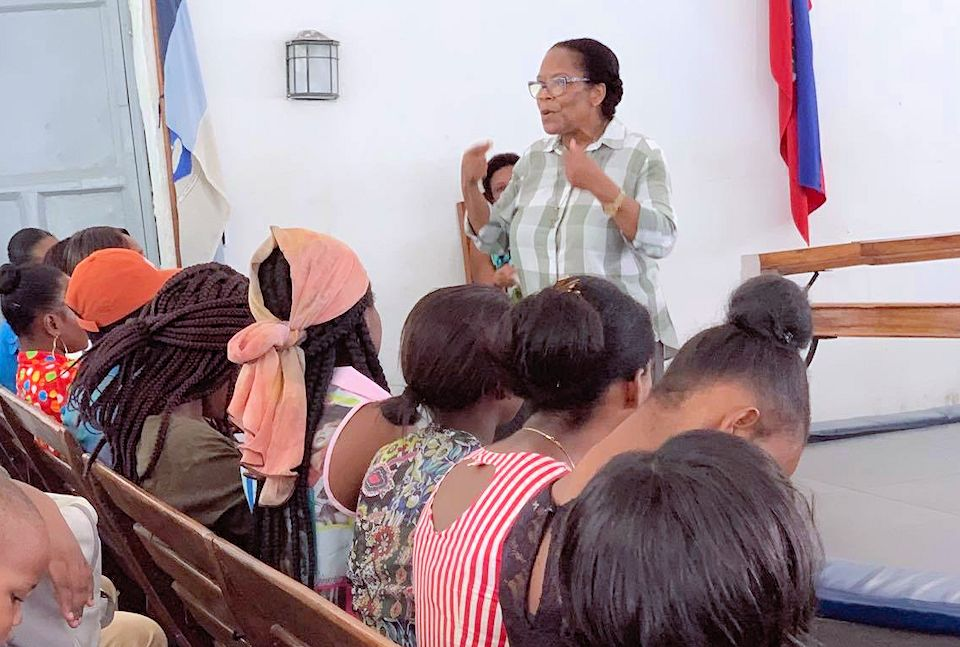 PAPA's ministry sponsored a gathering of 250 Haitians for fellowship and training.