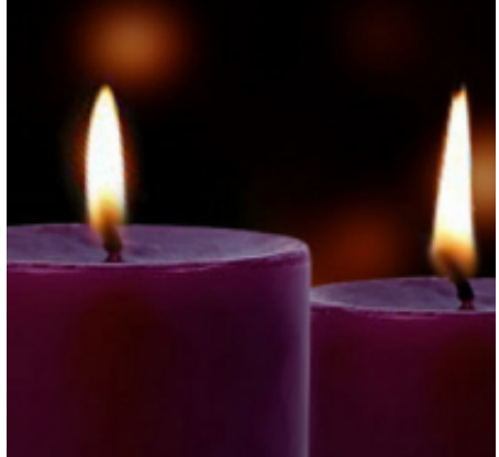 ADVENT candle square