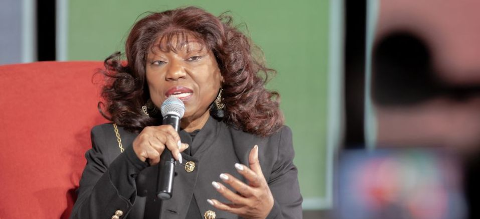 Cynthia Wilson taught and preached