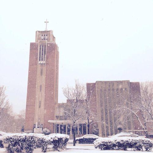 Capitol Hill UMC in winter