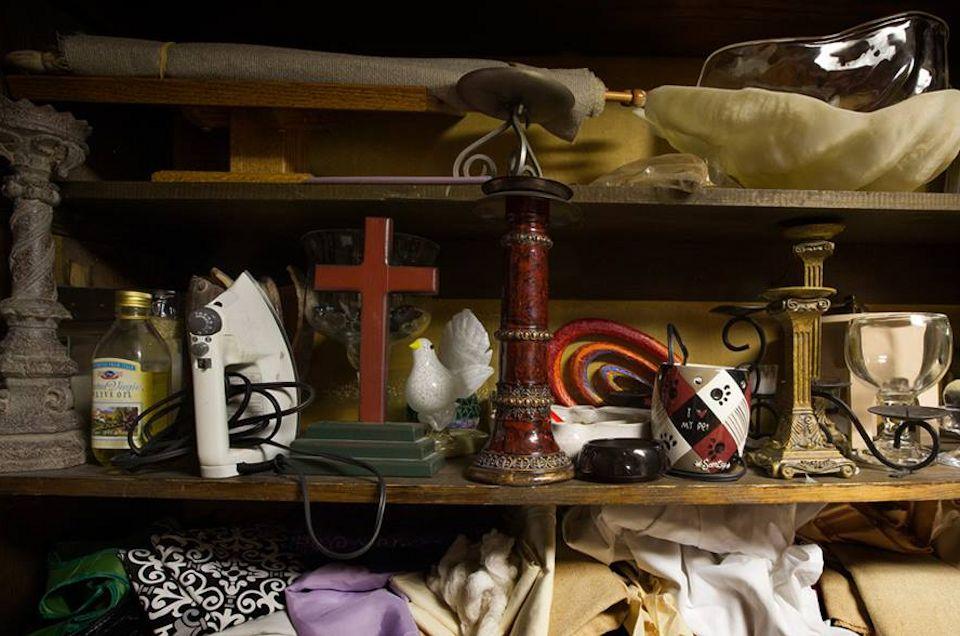 We accumulate spiritual clutter