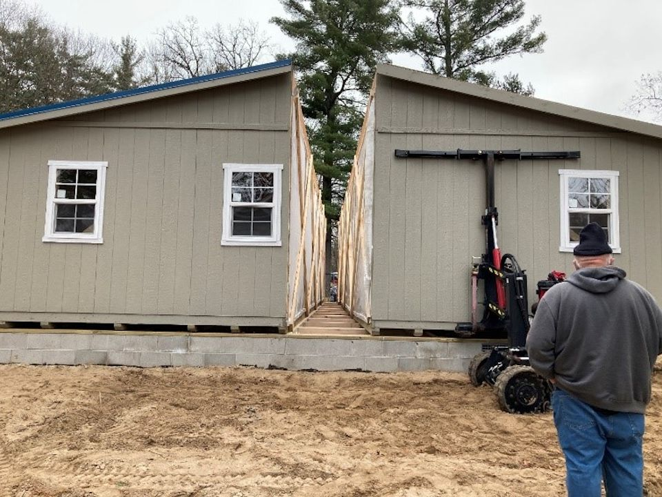 Pre-built home aids mid-Michigan resident