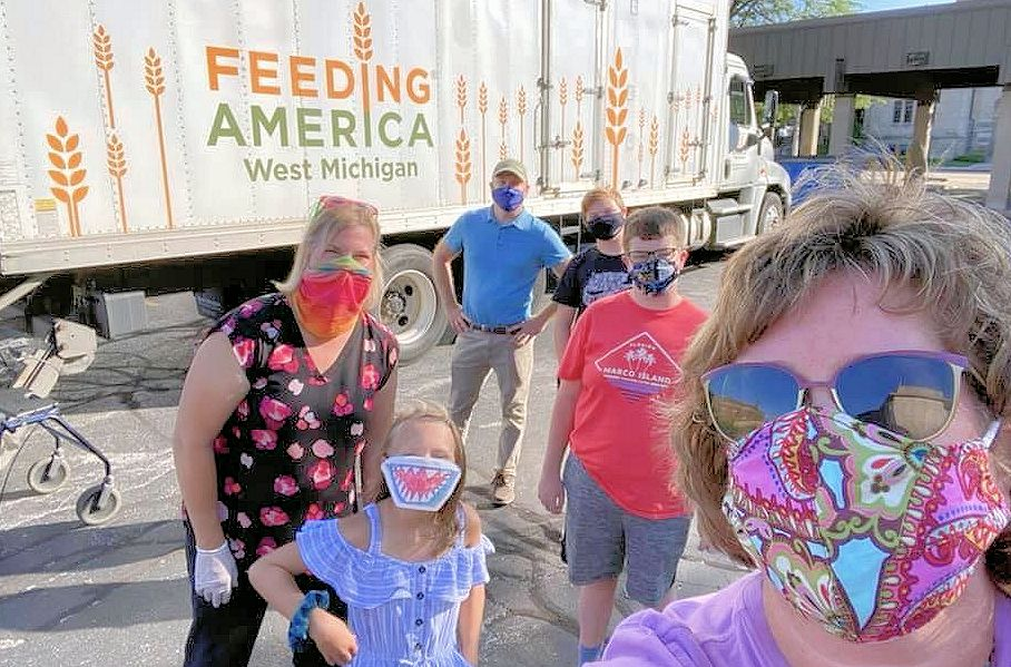 Churches continue to feed the hungry