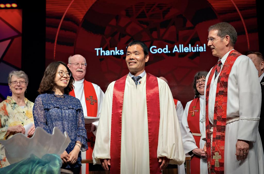Ordination Asian American