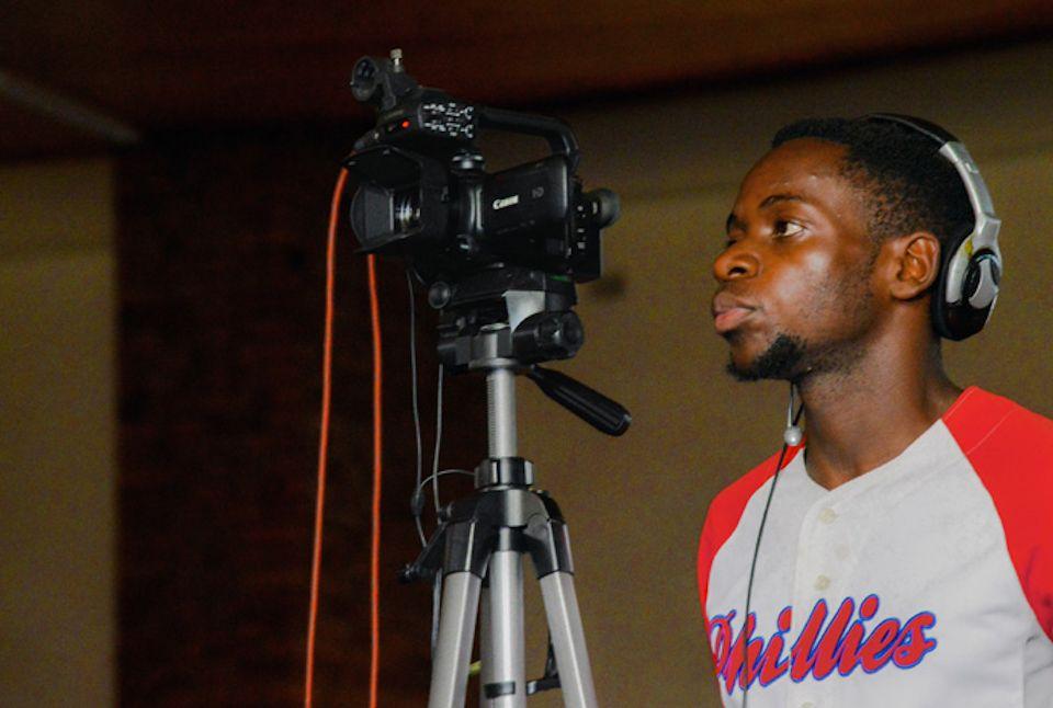Virtual Worship set-up in Zimbabwe