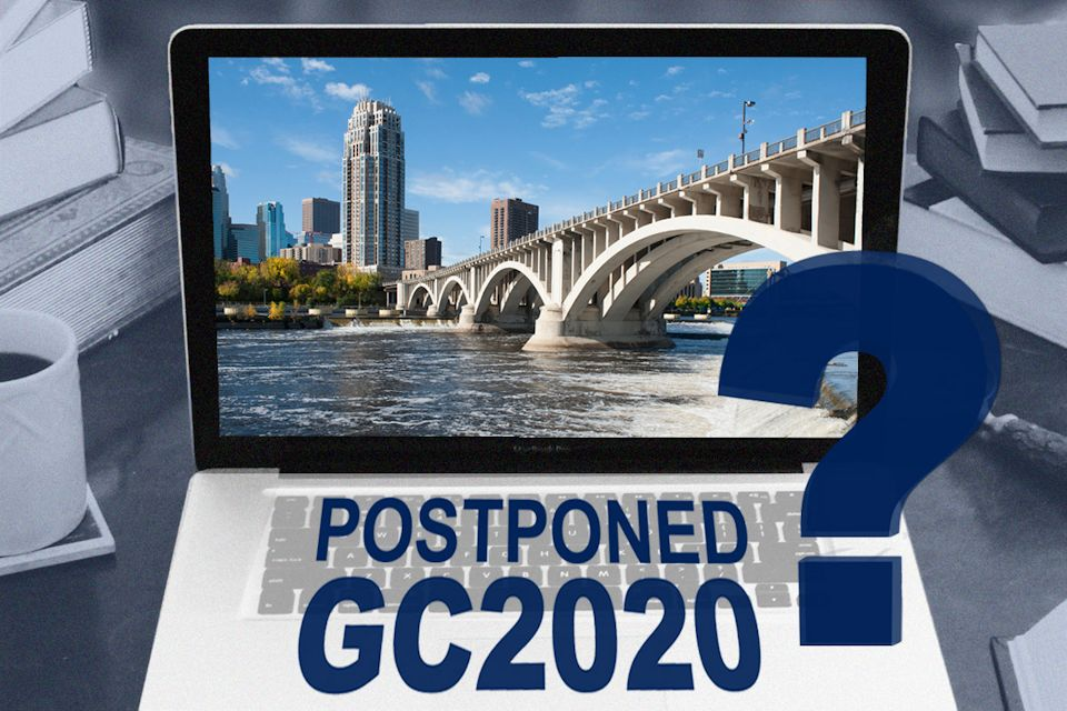 General Conference postponed once or twice?