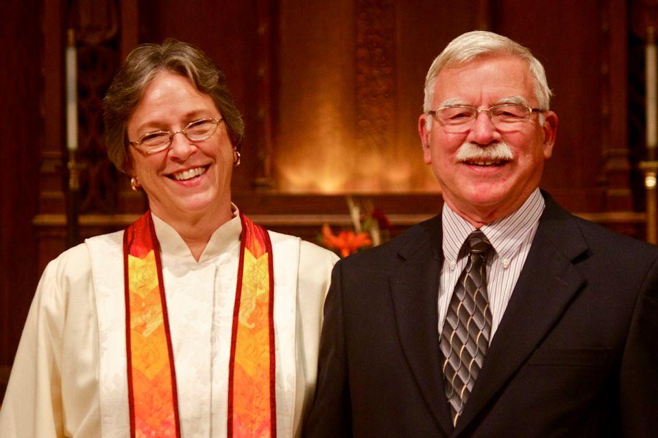 Bishop Deb and Brad Kiesey