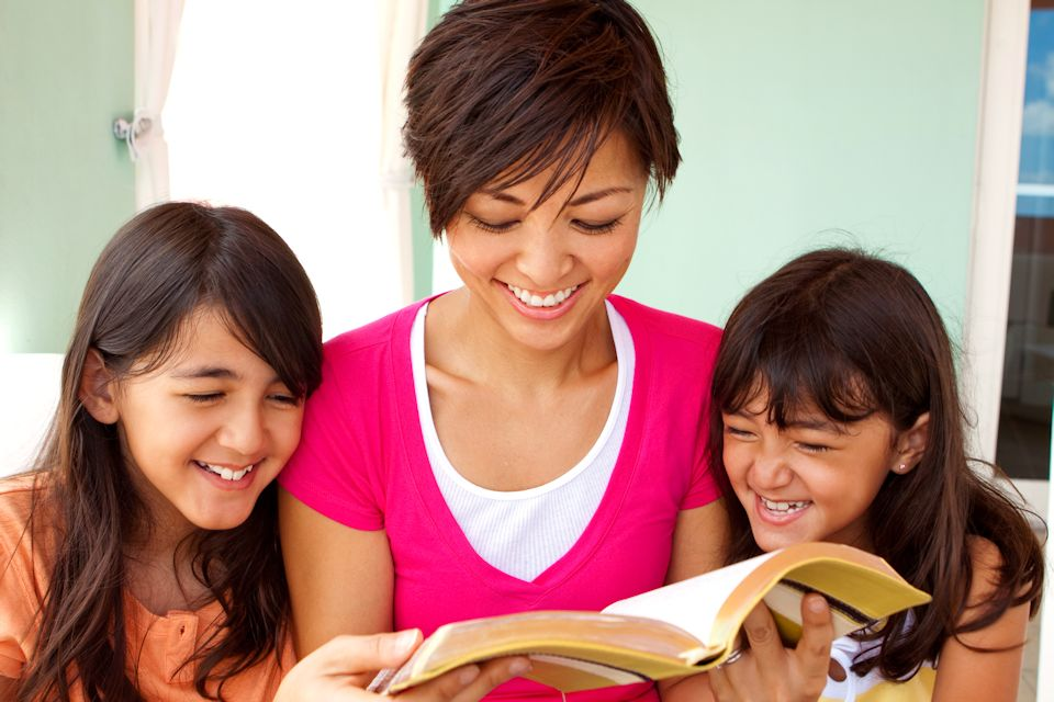Christian education happens at home.