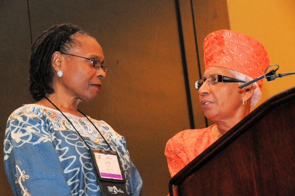 Black Clergywomen features Bishop Linda Lee