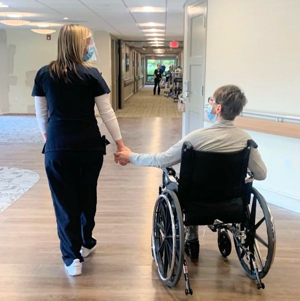 Seniors appreciate caregivers