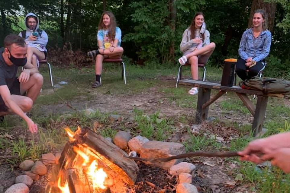 Camps, campfires, and s'mores. Yum.
