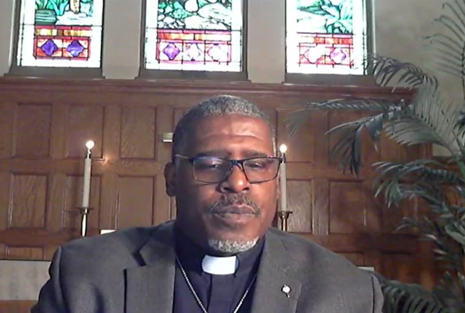 Pastor Albert Rush