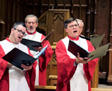 Lawyer in the choir