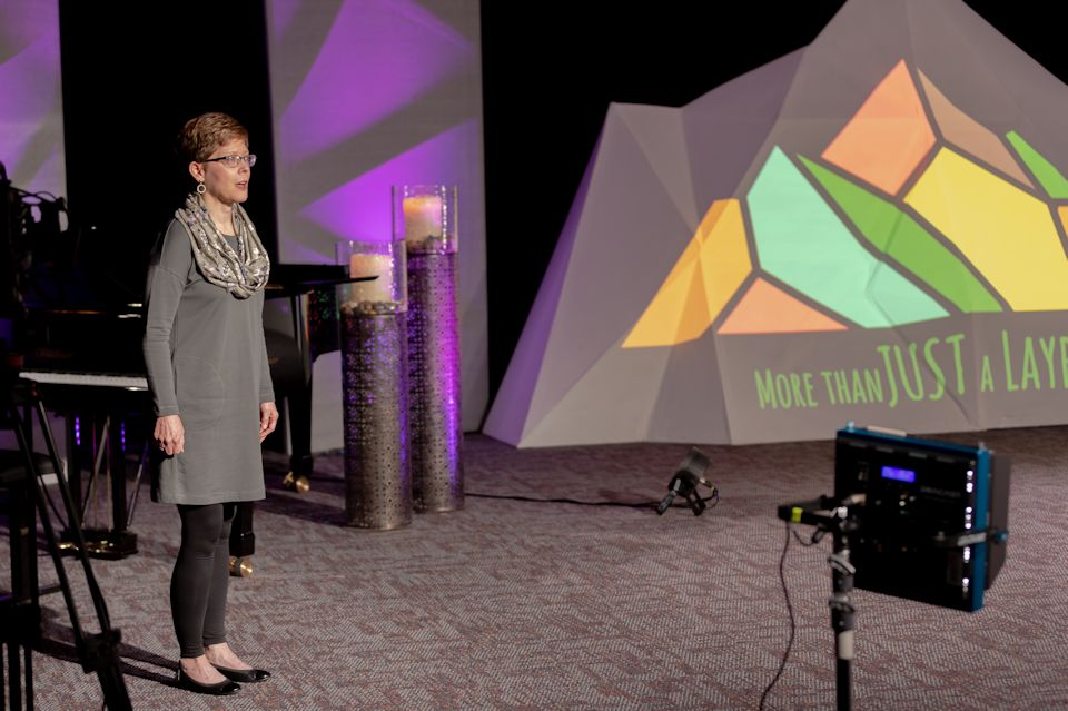 Lay person and Lay Leader of the Michigan Conference, Annette Erbes