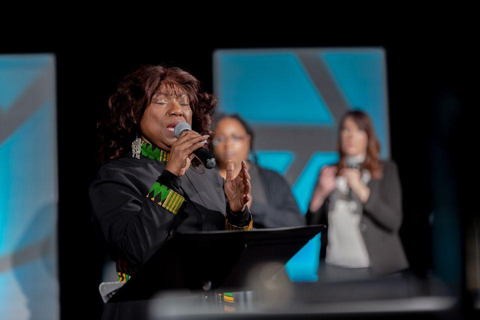 AC 2021 preacher Rev. Cynthia Wilson